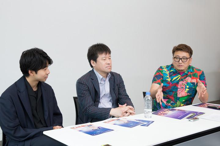 太賀、佐藤二朗、福田雄一
